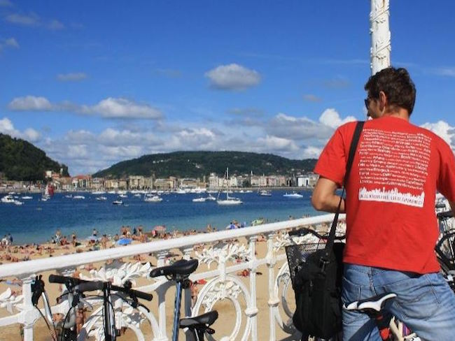Fietsen door San Sebastian (Baskenland) met Baja Bikes