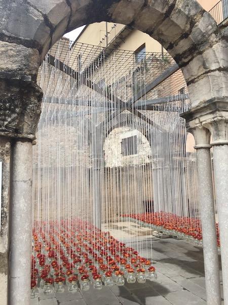 Bloemversiering historisch museum (Girona Temps de Flors 2019(