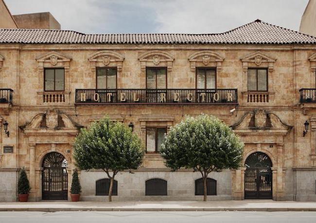 4-sterren Hotel Rector in Salamanca (Midden Spanje)