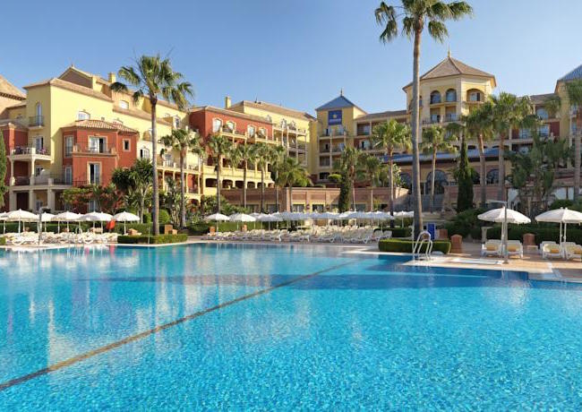 Hotel Resort aan strand van Torrox (Andalusië)