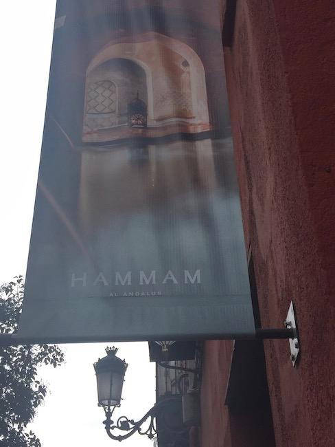 Buitenkant Hammam al Andalus Madrid