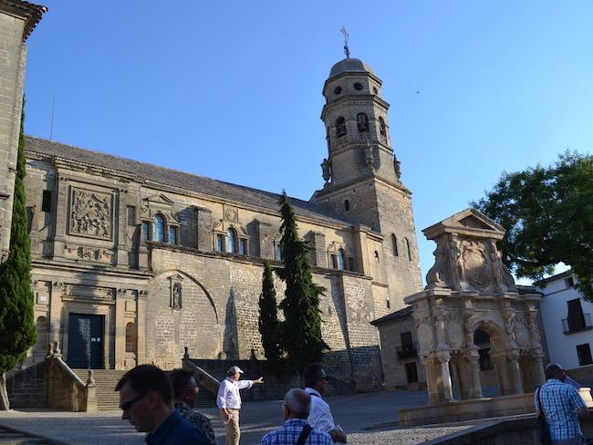 Renaissance kathedraal van Baeza (Andalusië)