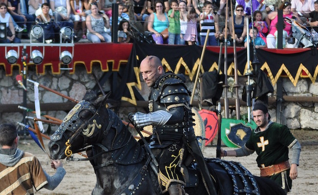 Middeleeuwse feesten in Hita (Midden Spanje)