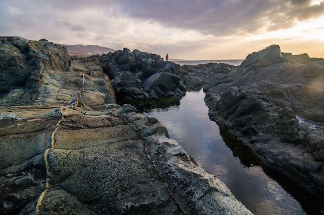 Aguas Verdes, ongerepte natuurzwembaden op Fuerteventura