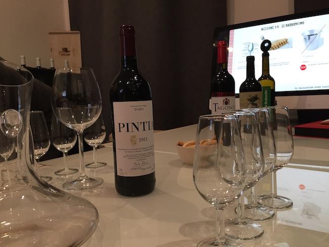 Goede Spaanse wijnen bij wijnproeverij El Brabantino in Madrid