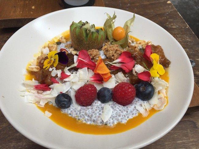 Chia sensatie ontbijt bij La Fábrica in Girona