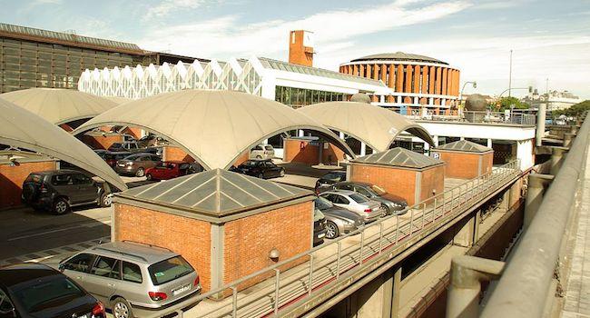 Parkeren in Madrid bij station Atocha