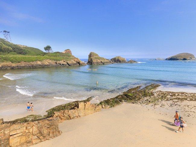 Playa de Porcia in Asturië (Noord Spanje) - Foto: Noé Baranda