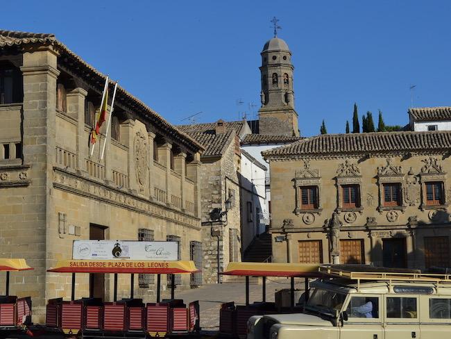 Plaza de los Leones in Baeza (Andalusië)