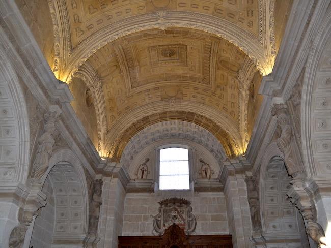 Sacristie in Renaissance stijl van Capilla de San Salvador in Úbeda (Andalusië)