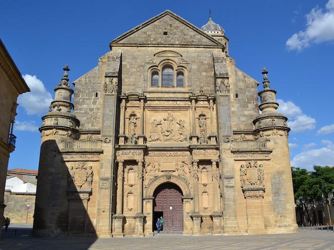 San Salvador kapel in Ubeda (Andalusië)