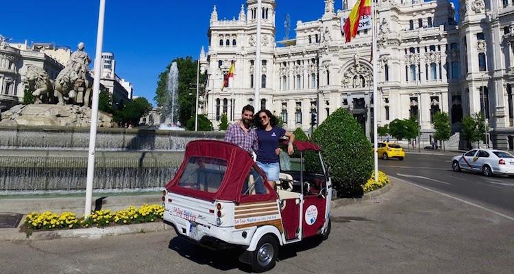 Op avontuur in Madrid met een Tuk Tuk van Tuk Tour Madrid