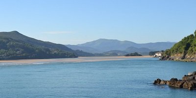 kust van Asturië aan de Costa Verde in Noord Spanje