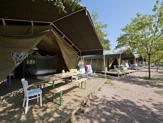 Glamping op Camping Rupit in de binnenlanden van Catalonië