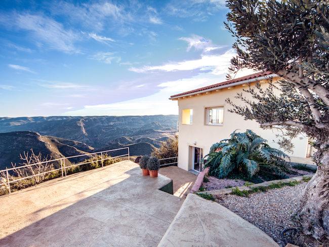 Vakantiehuis Casa Lo Es in de bergen van Valencia