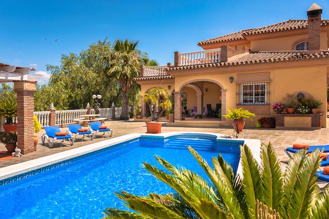 De rurale vakantiehuizen van La Casita in het binnenland van Andalusië hebben allemaal een zwembad