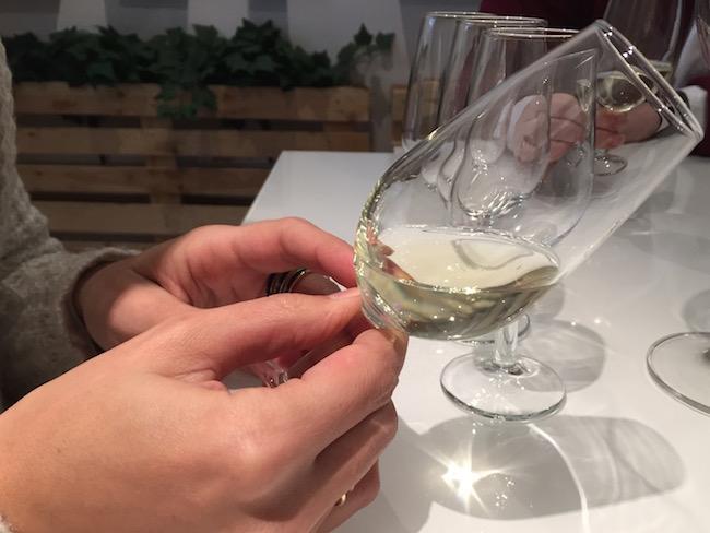 Wijnproeverij bij El Brabantino in Madrid (Spanje)