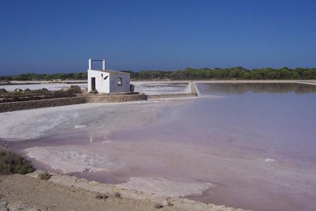 zoutmijnen op Formentera