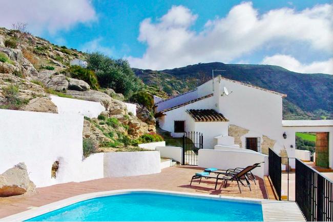 Vakantiehuis met zwembad Casa del Pastor in Los Nogales (Malaga, Andalusië)